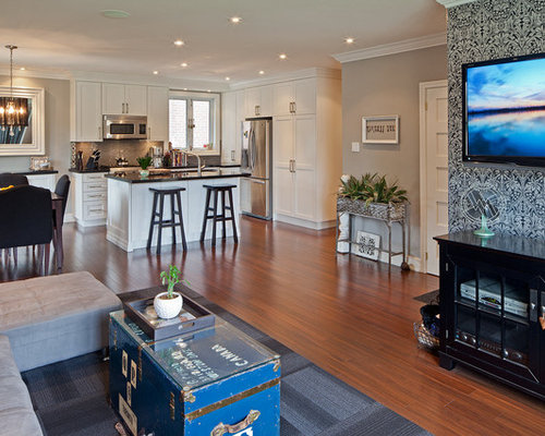 Best Small Great Room Design Ideas & Remodel Pictures | Houzz