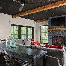 Farmhouse Fireplaces