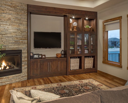Transitional Family Room Design Ideas Renovations