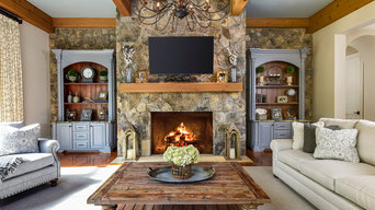 Rustic Comfortable Family Room