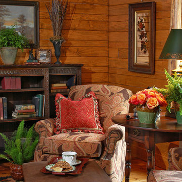 Rustic Craftsman Lodge