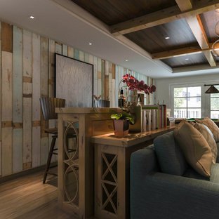 Rustic Entertainment, Gathering Center, Bar and Coffee Table