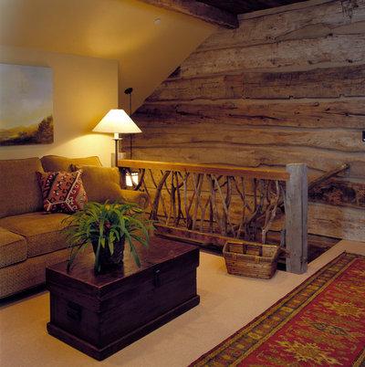 Рустика Семейная комната Rustic Family Room