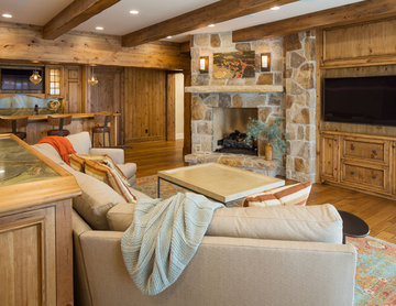 Rustic Family Room
