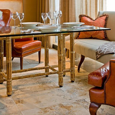 Traditional Family Room by Short Hills Marble & Tile