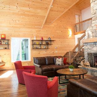 Rustic Maine Lake House