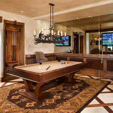 Traditional Family Room by DESIGN ONE INTERIORS