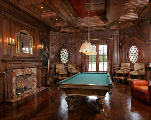 design ideas attic game room - Billiard Room