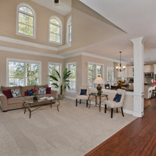 Traditional Family Room by Jamie McNeilis, Accredited Staging Professional