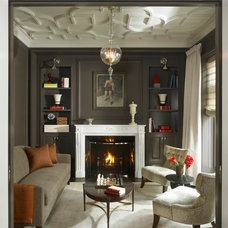 Traditional Family Room by Michael Abrams Limited