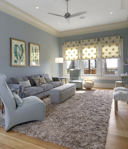 Contemporary Family Room by William Quarles Photography