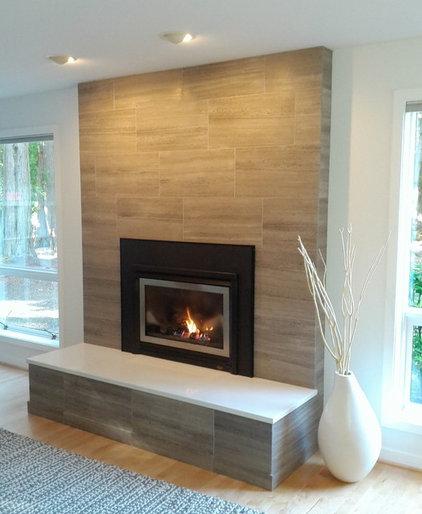 Modern Family Room by Yarbro Home Improvement LLC
