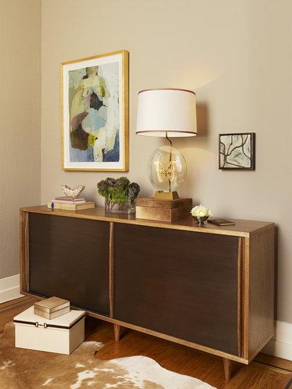 Contemporary Family Room by Melanie Coddington