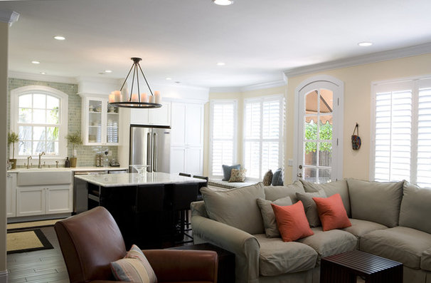 Traditional Living Room by Fiorella Design
