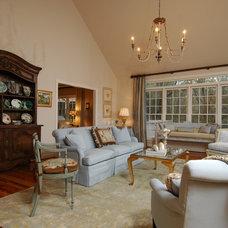 Traditional Family Room by Sandra Ericksen Design