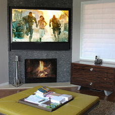 Modern Family Room by IDS Audio Video & Technologies