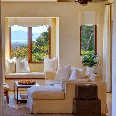Mediterranean Living Room by Debra Lynn Henno Design