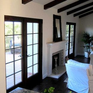 Santa Barbara Spanish Style Fireplaces