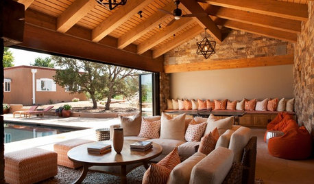 Summer Never Ends With This Outdoor Sanctuary in Santa Fe