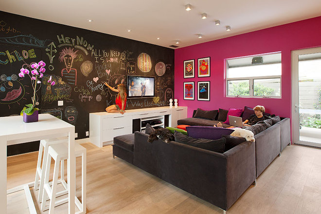 Teen hangout for Family game room ideas