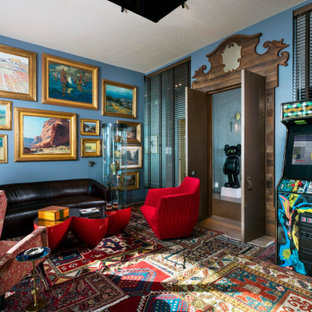 75 Beautiful Blue Game Room Pictures Ideas February 2021 Houzz