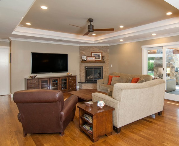 Traditional Family Room by Merz & Thomas Design/Builders