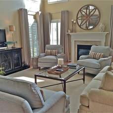 Traditional Family Room by Bittersweet Interior Designs, LLC