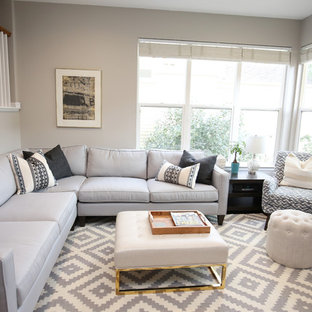 Scandinavian Influenced Family Room