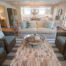 Traditional Family Room by Cheney Brothers Building & Renovation LLC