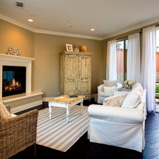 Traditional Family Room by Stone Building Corporation