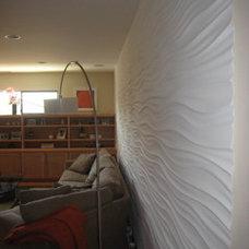 Modern Family Room by Ron Yeo, FAIA Architect