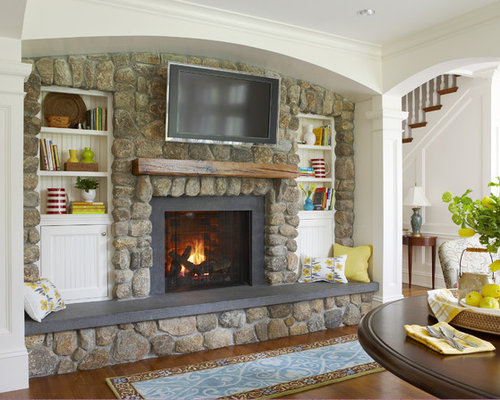Granite Hearth | Houzz