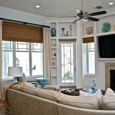 Beach Style Family Room by Finishing Touches