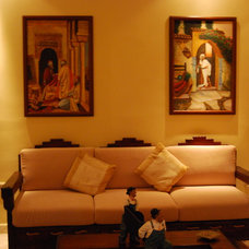 Asian Family Room Seating rooms