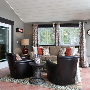 Sebago Lake Family Room/Pub Renovation