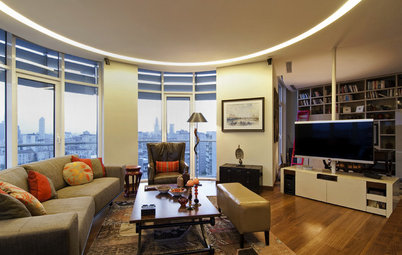 Houzz Tour: Istanbul Apartment Does a Double Take