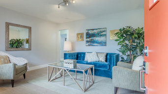 Seminole Heights Mid Century Beauty, Staged by Cardinal Designs