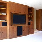 Tiburon home with Asian influence - Asian - Family Room - San Francisco - by Mahoney Architects ...