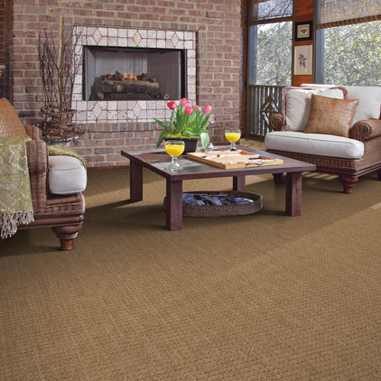 Traditional Family Room by Shaw Floors