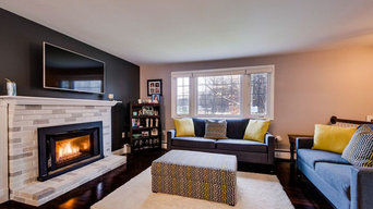 Shades of Gray Updated Fireplace