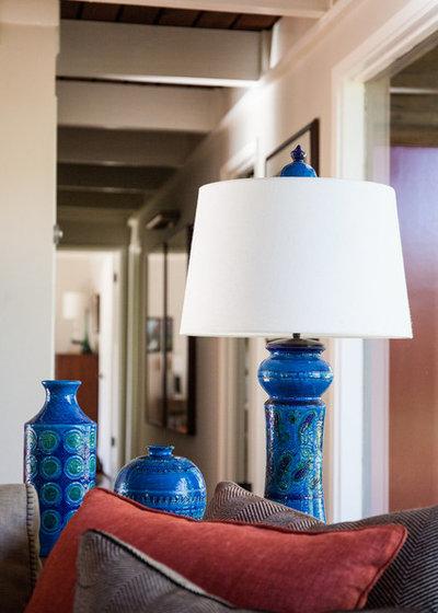 Midcentury Family Room by BK Interior Design