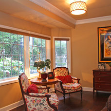 Traditional Family Room by Landmark Builders