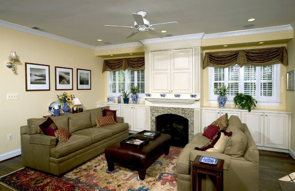 Contemporary Family Room by Kleppinger Design Group, Inc.