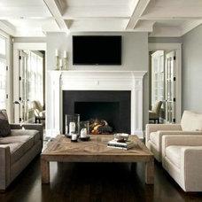 Traditional Family Room by Tiburon Homes LLC