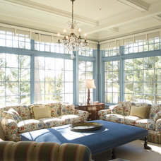 Traditional Family Room by TEA2 Architects