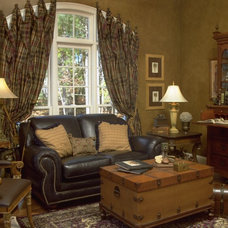 Traditional Family Room by Terri Ervin Decorating Den Interiors
