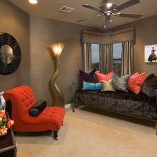Contemporary Family Room by Urbane Design I Reviving Interior Spaces
