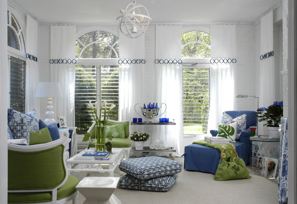 Contemporary Family Room by Eileen Kathryn Boyd Interiors