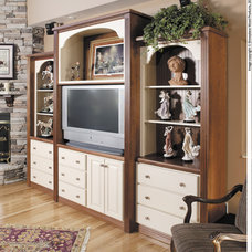 Traditional Family Room by Showplace Wood Products