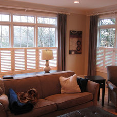 Traditional Family Room by The Shutter Company